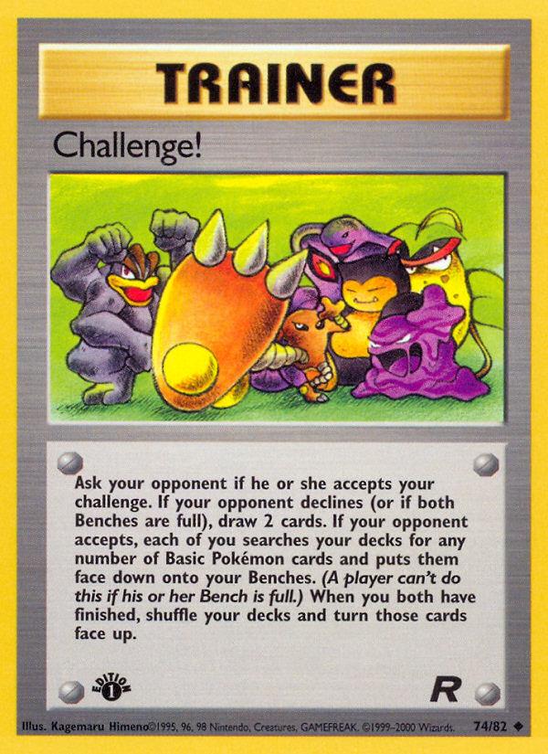 2000 Team Rocket Challenge!